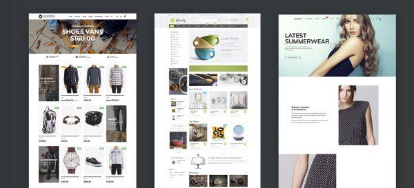 Boring Shopify theme designs