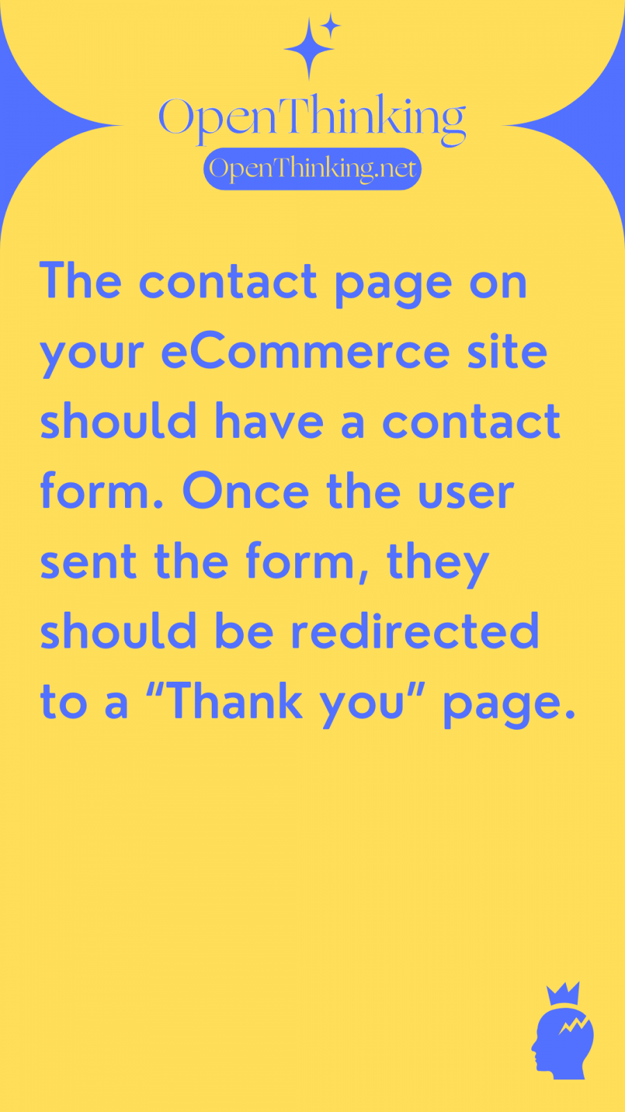 Shopify eCommerce guide contact page