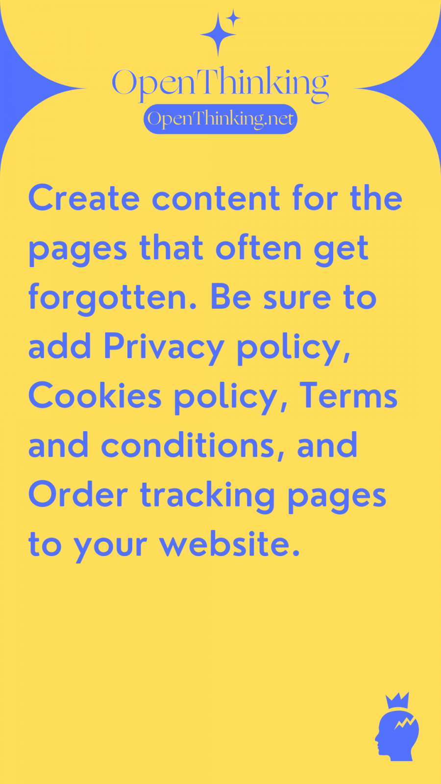 Shopify eCommerce guide legal pages