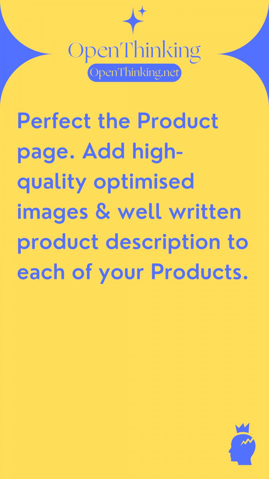Shopify eCommerce guide product description