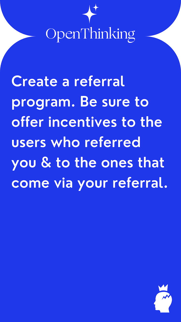 Shopify growth hacking guide referral program