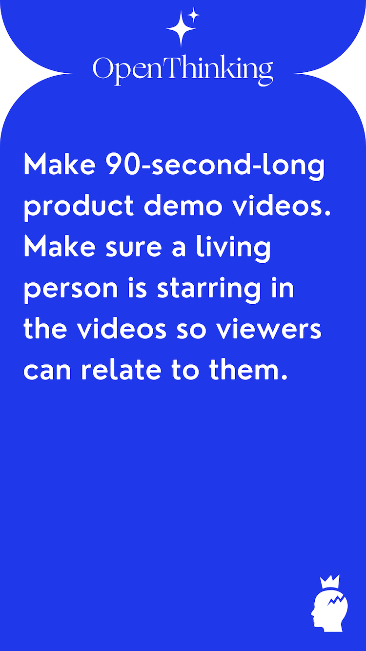 Shopify growth hacking guide product demo videos